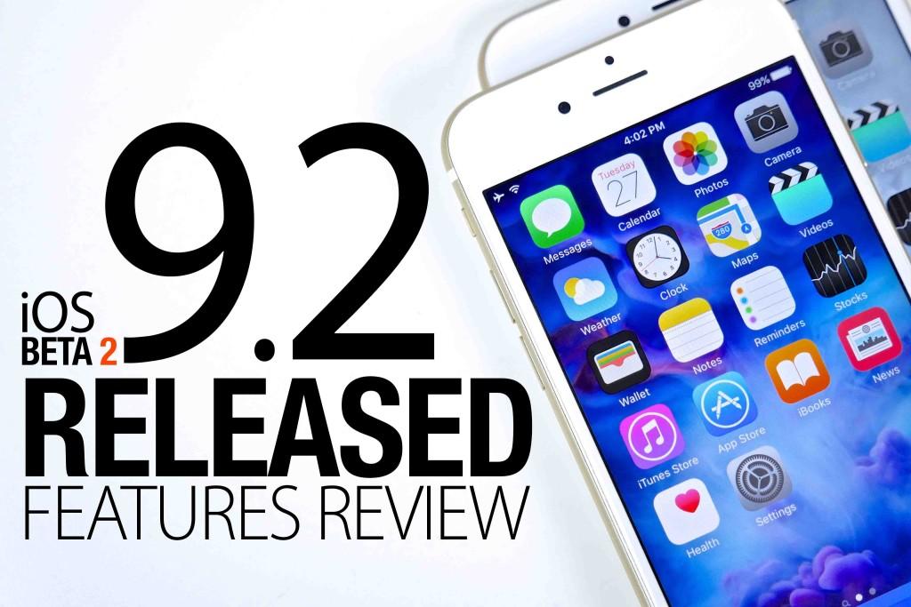 iOS 9.2 a aparut | Descarca iOS 9.2 acum