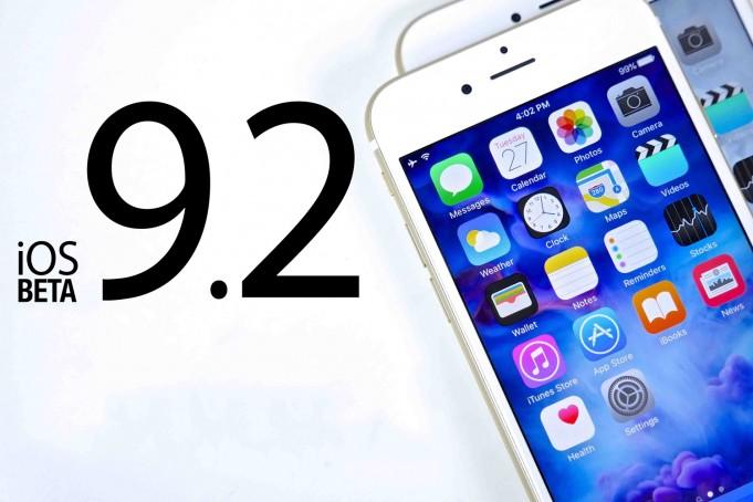 iOS 9.2.1 beta 2 a aparut astazi pentru dezvoltatori