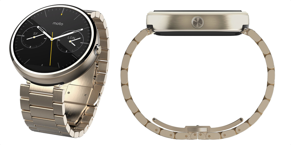 Original Moto 360 in champagne metal now available for $150+ $5 shipping