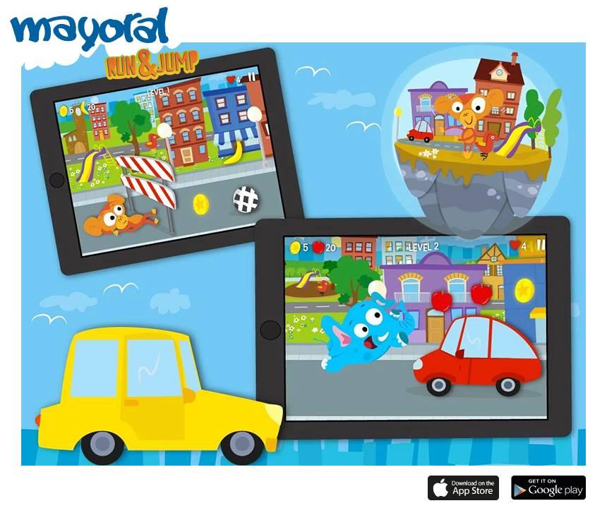 App pentru copii Mayoral